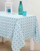 Nappe SUOMI 140X250CM Couleur Bleu