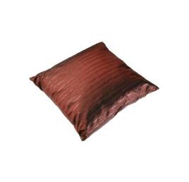 Coussin marron foncé 45 x 45 cm