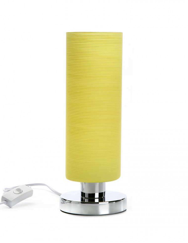 Lampe de table jaune