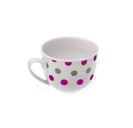 Tasse de thé TRUFFAUT violet en porcelaine