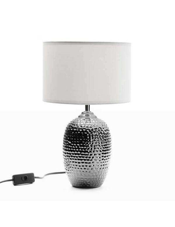 Lampe de table argent