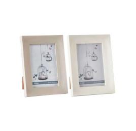 Cadre photo effet bois 10x15 cm