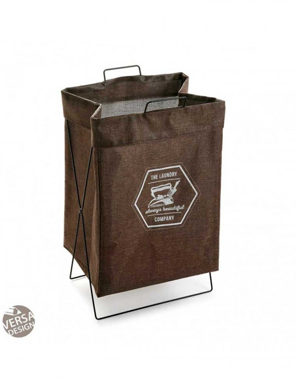 panier linge the laundry marron casa square. Black Bedroom Furniture Sets. Home Design Ideas
