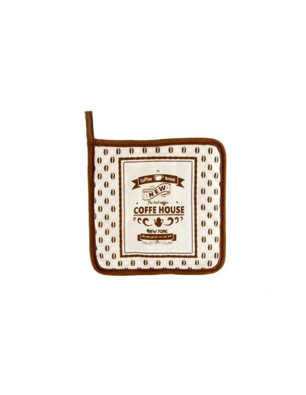 Manique de cuisine 18x18cm en coton