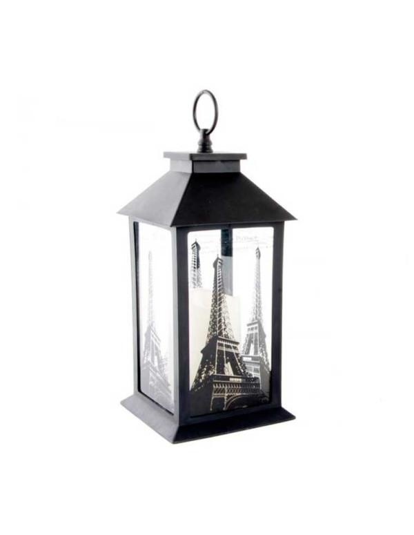 Lanterne LED en cristal PARIS