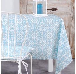 Nappe LISBOA bleu 140 x 250 cm