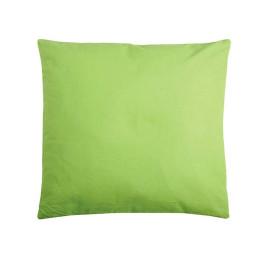 Coussin DUO uni 40X40 cm vert