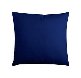 Coussin DUO uni 40X40 cm bleu marine