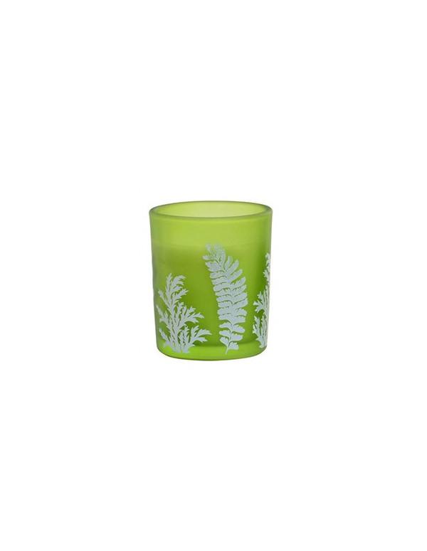 Bougie parfumée NATURAL LEAVES verte