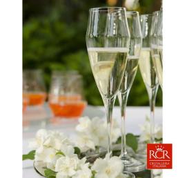 Set de 6 flutes à champagne EGO 18,2cl