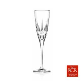 Set de 6 Verres à champagne CHIC 15cl en cristal