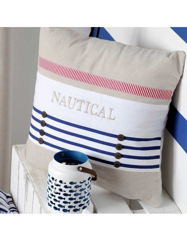 Coussin NAUTICAL 40X40 cm