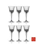 Set de 6 verres à pied cristal ADAGIO 23cl
