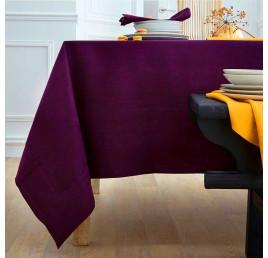 Nappe NELSON 145X240 cm aubergine