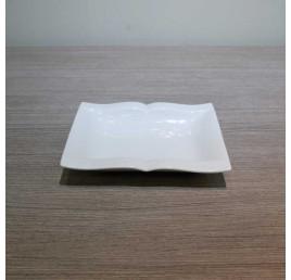 Assiette creuse LIVRE en porcelaine