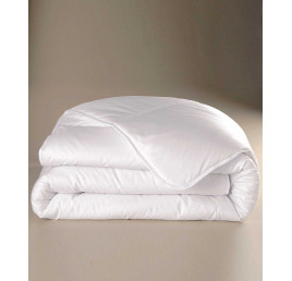 Couette blanche CHEMA 140x240cm en polyester