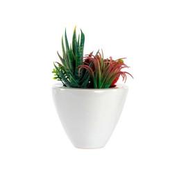 Plante artificielle en pot céramique 11x15 cm
