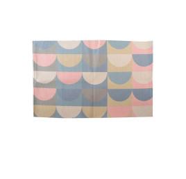 Tapis multico en coton et polyester