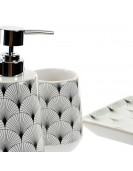 Set de 3 accessoires de salle de bain VAGUES