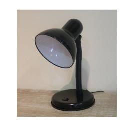 Lampe de bureau en noir