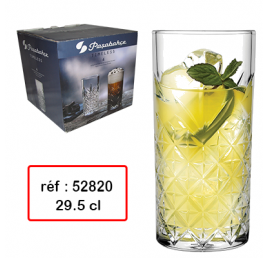 SET DE 4 VERRES TIMLESS