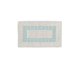 Tapis de bain motif versace VERT en coton 70X40 cm