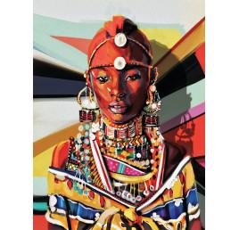 Tableau Africano 90x60 cm