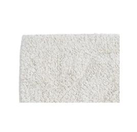 Serviette de bain FLEUR BLANC EN COTON 60X40 CM