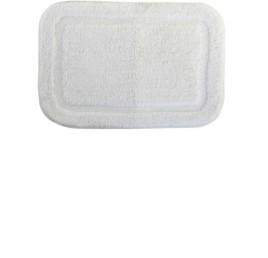 Tapis de bain simple beige en coton 60X40 cm