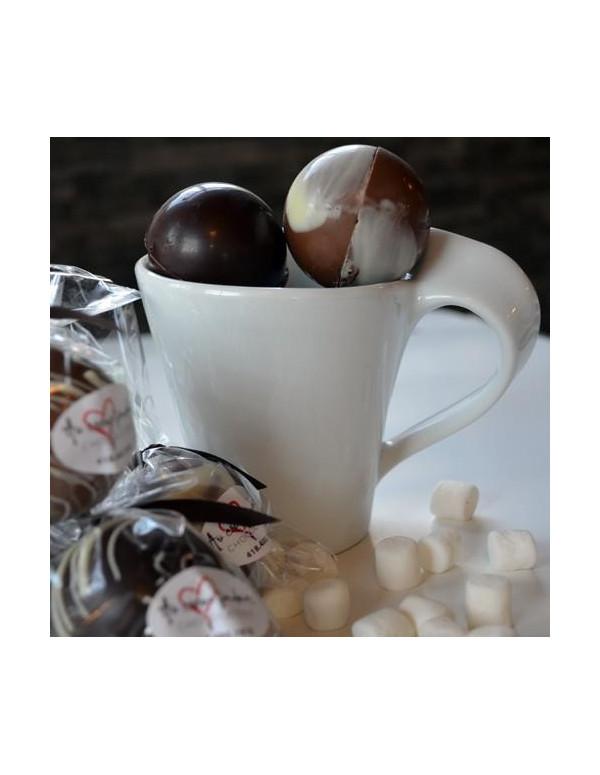 Service à café blanc COMBI en porcelaine
