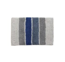 Serviette de bain ligne en blue 60X40 cm