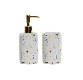 Set de 2 accessoires de salle de bain 8X7X7,5 7 MEMPHIS