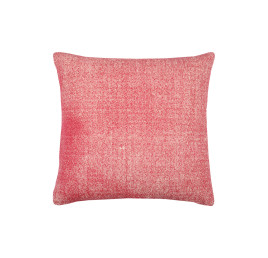 Coussin USED en ROUGE 45x45 cm
