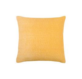 Coussin USED en JAUNE 45x45 cm