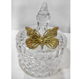 Bonbomière papillon 13,5x10,5 cm