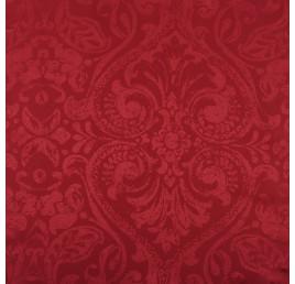 Nappe Napoli rouge 145x300 cm