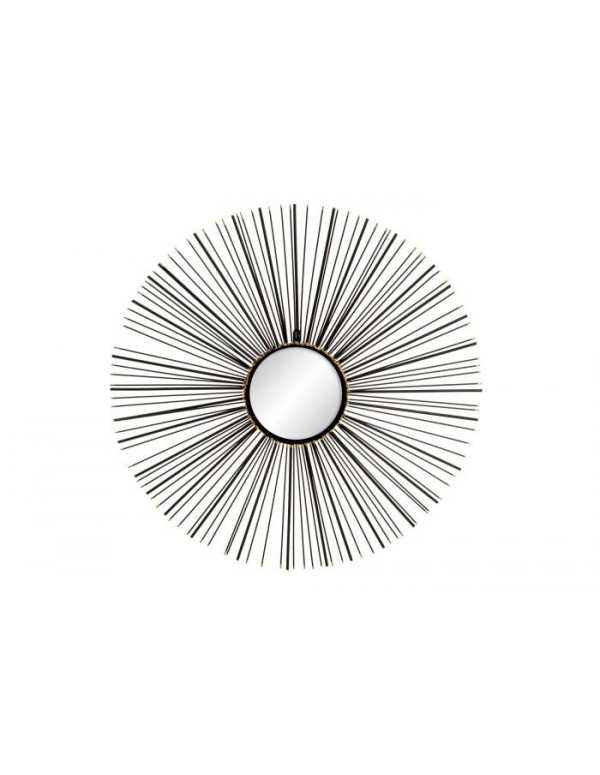 Miroir SAUVAGE en métal 76X3X76 cm