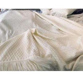 Couvre lit en laine