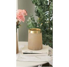Vase Gold rose 11x15,5 cm