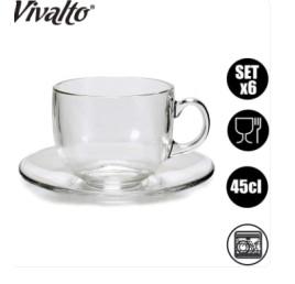 Set de 6 TASSES A CAFE VIVALTO 22 CL
