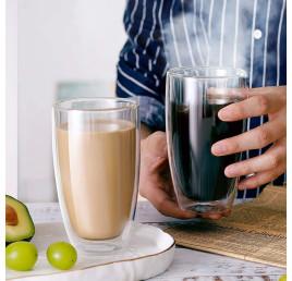 Set de 2 tasses à café double paroi 300 ml