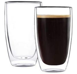 Set de 2 tasses à café double paroi 350 ml