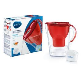 Carafe filtrante Marella - 2,4 litres Rouge