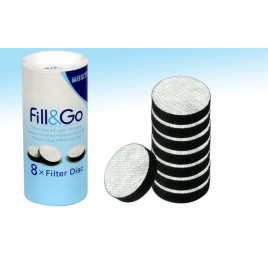 Brita Pack de 8 disques filtrants pour bouteilles Fill & Go