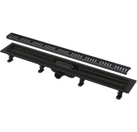 Siphon à l 'italienne Plastique 650mm Complet BLACK
