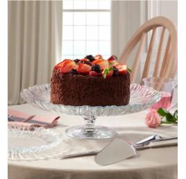 Présentoir à gâteaux en verre Aurora 20,5cm