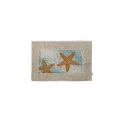 TAPIS BAIN étoile 60X40X0,5 cm