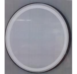OLEK MIROIR ROND 80CM MARCO NEGRO AVEC LED + TOUCH ON/OFF
