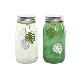 pot décoratif led tropical en transparant