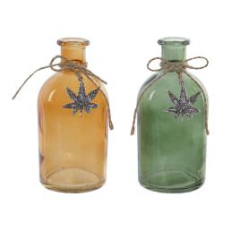 set de 2 vases en verre